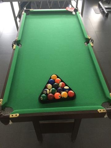 Billiard Table Folded Legs