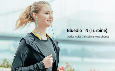 Bluedio New TN Active Noise Cancelling Bluetooth Earphone Wireless Headset Sports
