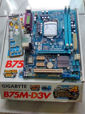 GIGABYTE B75M-D3V Socket intel 1155 Sandy/Ivy Bridge