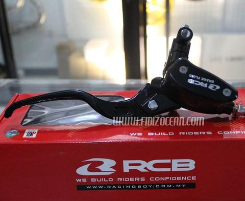 Master rem RCB and Brake fluid RCB Black