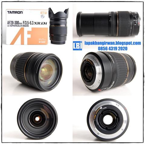 TAMRON AF 28-300mm XR Di VC FOR CANON MULUSSS BOOOSSS!!! ( LBI JOGJA )
