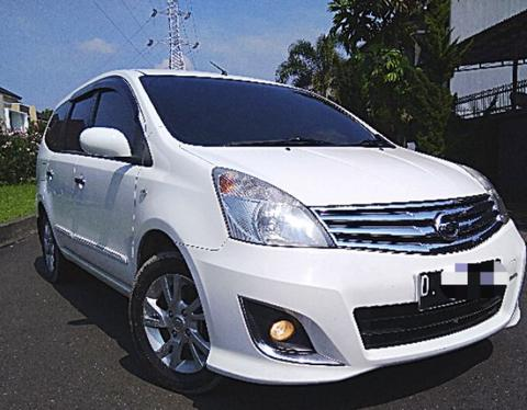 Nissan Grand Livina XV 2012 FACELIFT AT Matic Putih Low KM Orisinil