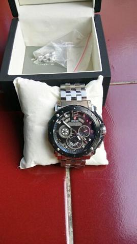 Dijual Jam Tangan Expedition EXF-6402 Man Black Dial Stainless Steel