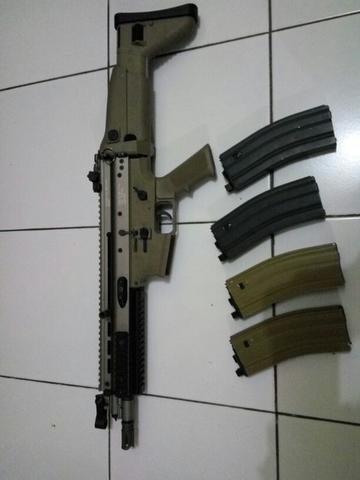 GBBR WE SCAR L closed bolt aorsoft