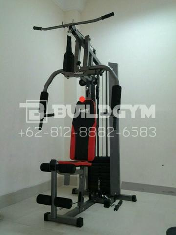 Alat Fitness Multi Home Gym 1 Sisi TL008 | Homegym 1 Station TL-008 Cover Steel