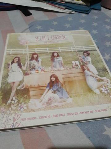 A-Pink Album Secret Garden official 2nd bonus poster murmer! Apink BTS Kpop K-POP