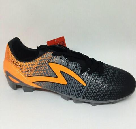 SEPATU BOLA SPECS PHOTON FG COOL GREY ORANGE 100759 ORIGINAL MURAH