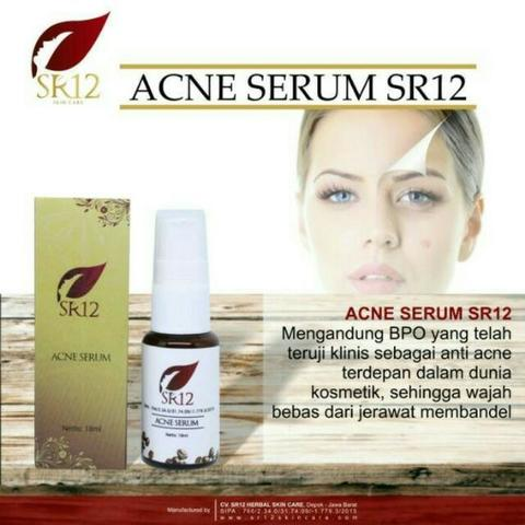 Serum Acne SR12 - Harga Distributor