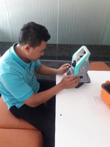 Jual total station Nikon series XF 105