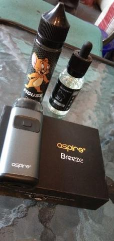 Vapour Aspire Breeze plus bonus 2 btl liquid