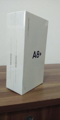 Jual cepet bnib new samsung galaxy a8+ black