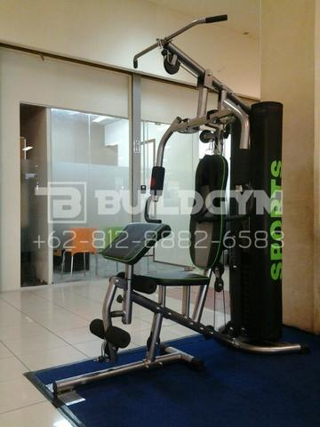 Alat Fitness Multi Home Gym 1 Sisi ID804 | Homegym 1 Station ID-804 Cover Cotton