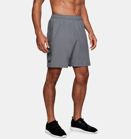 Under Armour Woven Graphic Short Original Gray
