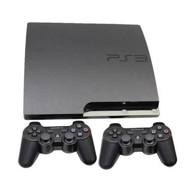 PS3 Slim 500gb seri 25xxx ( Cfw 4.81 ) full game, kondisi 99,9% like new