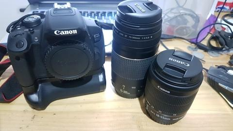 Canon EOS 700D Full Set!
