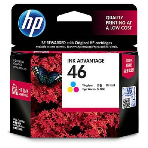 cartridge hp 46 color
