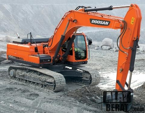 Excavator Doosan 0.21kubik low price