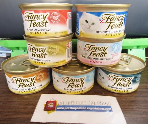 Fancy Feast All Varian 85gr / Cat Food - Makanan Kucing Basah