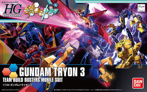 HG / HGBF 1/144 Gundam Tryon 3 - Gundam Build Fighters Try