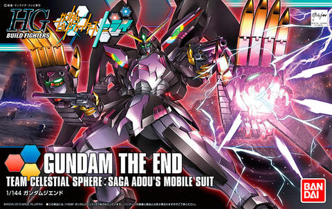 HG / HGBF 1/144 RX-END Gundam The End - Gundam Build Fighters Try