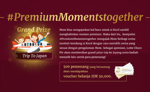 Kuis Vote Video Premium Moments Together Berhadiah Trip ke Jepang & Voucher