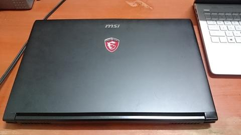 "BU! Laptop Gaming MSI GL62 6QF 15"" FHD, i7 6th, Ram 8GB, HDD 1TB, Nvidia GTX 960 2GB"