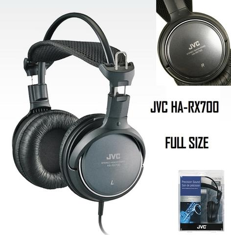 Original JVC HA-RX700 Precision Sound Full Size Headphone