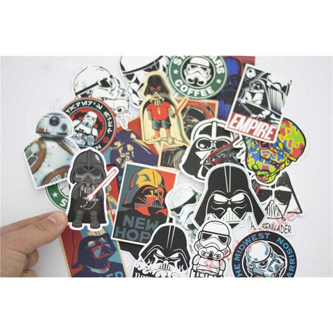 Stiker Tempel Star Wars 25 PCS