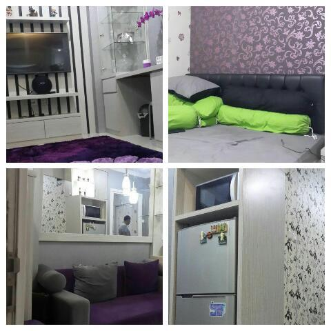 the green pramuka 2br full furnish harian