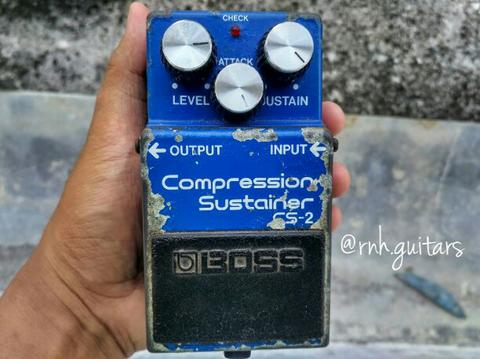 boss c2 compressor sustainer not cs3 mxr walrus jhs gfi amt wampler ehx tech21