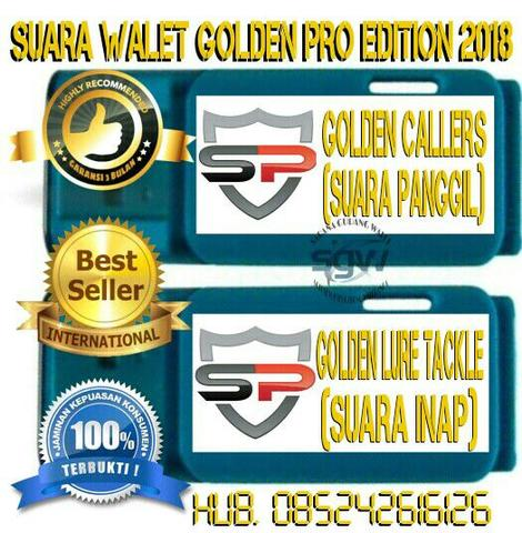 SUARA WALET GOLDEN PRO EDITION 2018 ORIGINAL