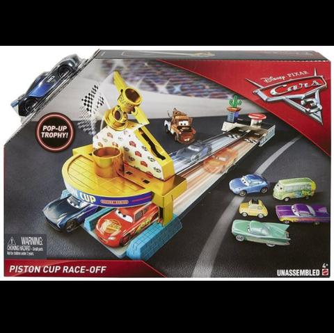 MATTEL DISNEY CARS 3 Piston Cup Race - off Playset (Jackson Storm)
