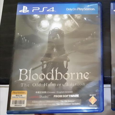 Bloodborne The Old Hunters Edition Reg 3 Asia