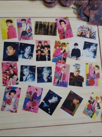 photo card photocard transparan transparant nct dream 127 U fankit oke