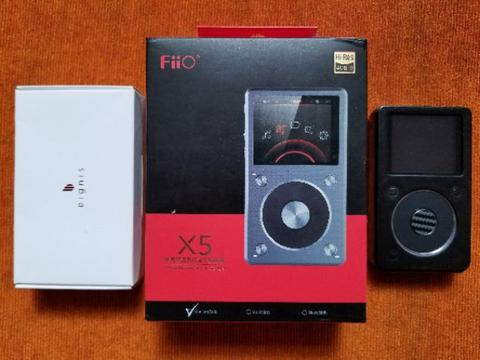 DAP FIIO X5 GEN 2 Mint Condition - Free Dignis Leather