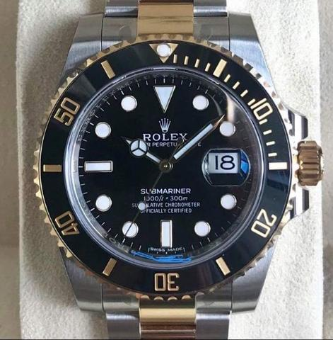 Rolex Submariner 116613ln Random Series Fullset Like New Authentic