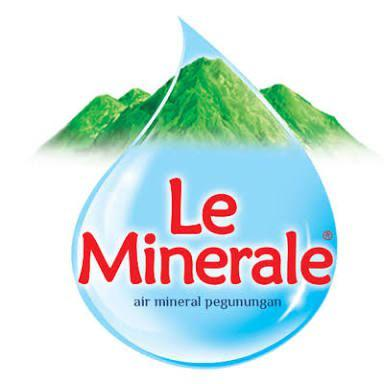 Air Mineral Le Minerale.