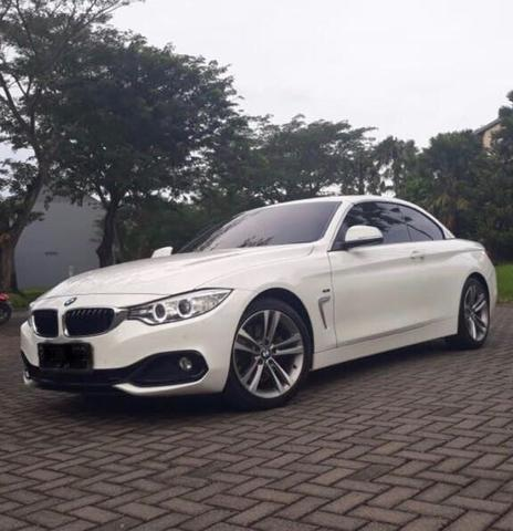 BMW 428I Convertible >> Jual Bmw 428i Convertible White On Red 2014 2015