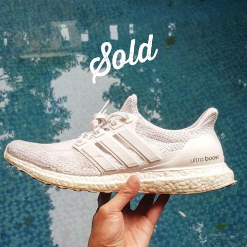 adidas Ultraboost All White Original