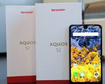 Sharp Aquos S2 Black 4gb/64 bezel less.tag iphone 6s 7 8 X S8 A8 s8 S9 pixel 2 xl p20