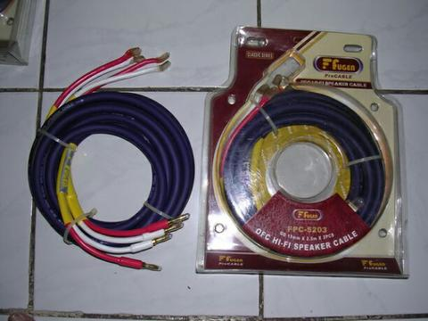 HIGH QUALITY SPEAKER CABLES