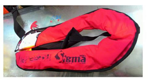 Inflatable Lifejackets Sigma 150N,CE ISO 12402-3,
