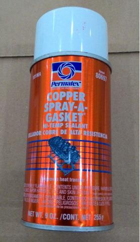 permatex copper spray,gasket hi temp sealant