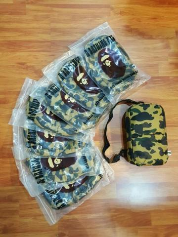 sling bag bape camo body
