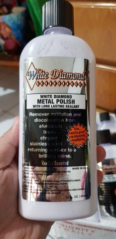 poles chrome white diamond from USA