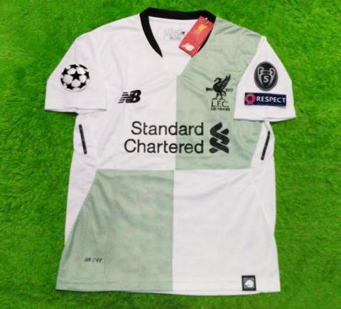 4b2ae98a85a Jual Jersey Bola Liverpool Away UCL 2017-2018