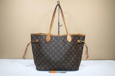 Tas branded LOUIS VUITTON LV NEVERFULL Mono second bekas original asli ab23165647