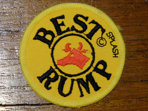 Patches Vintage BEST RUMP