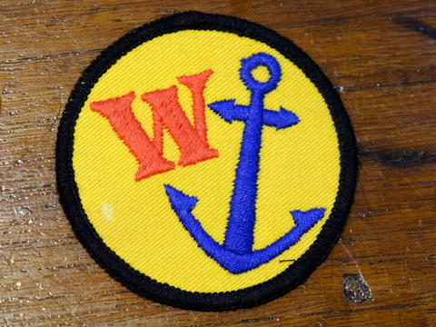 Patches Vintage W ANCHOR