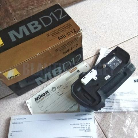 Nikon Battery Grip MB-D12 MBD12 for Nikon D800 D800E 99% Like New